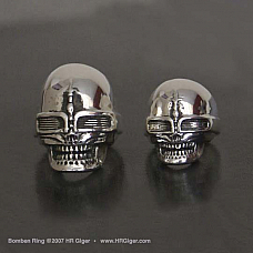 Bomben Skull Ring