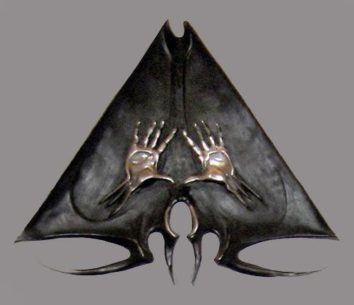 Emblem for a Secret Society Ring - Sterling silver