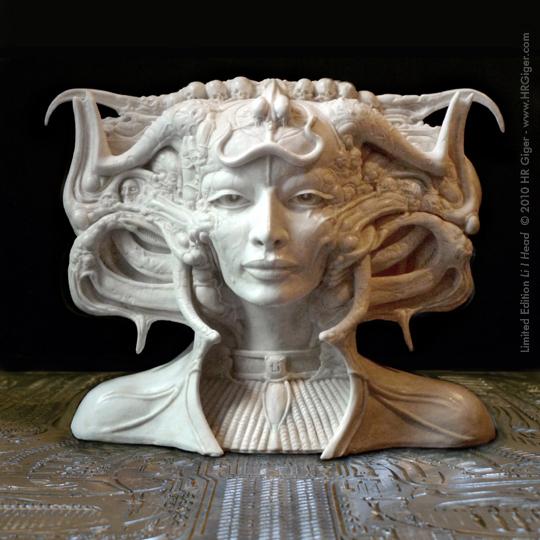 Li I - cast marble