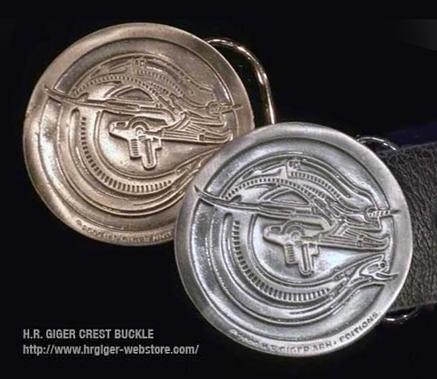 H.R.Giger Alien Crest